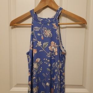 Loft Soft Middi Dress with Floral Print